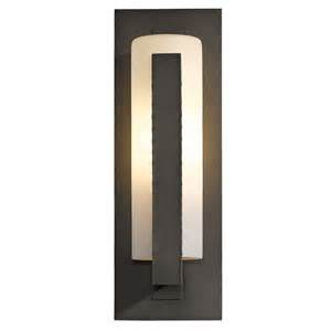 Vertical Wall Sconce Vertical Bars Outdoor Wall Sconce By Hubbardton Forge 307286 10 G34
