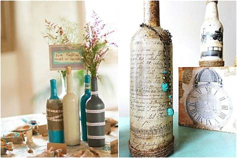 Wine Decorations For The Home Ideas Home Garden Architecture Furniture Interiors Design Ideas To Decorate A Wine Bottle