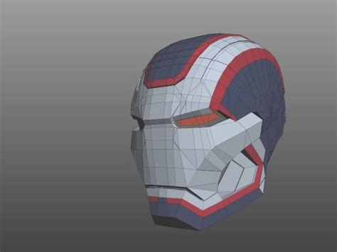 Iron Helmet Papercraft Pdf - best 20 pepakura helmet ideas on