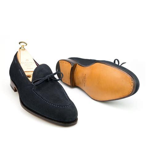 carmina string loafer navy string dress loafers carmina shoemaker