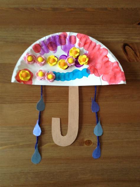 umbrella craft for u is for umbrella craft preschool craft letter of the