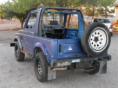 Suzuki Samurai Used Parts Find Used 1987 Suzuki Samurai 4x4 With 41372 Great