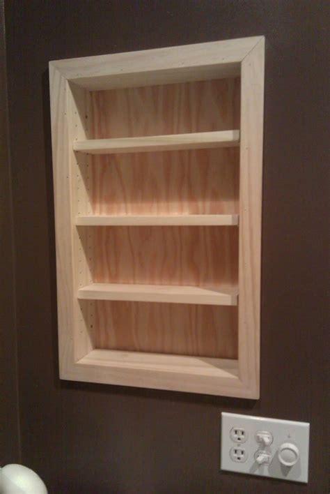 time  recess   create shelf space  studs
