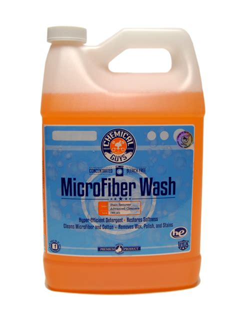 How To Wash Microfiber by Chemical Guys Microfiber Wash Microfiber Cleaning