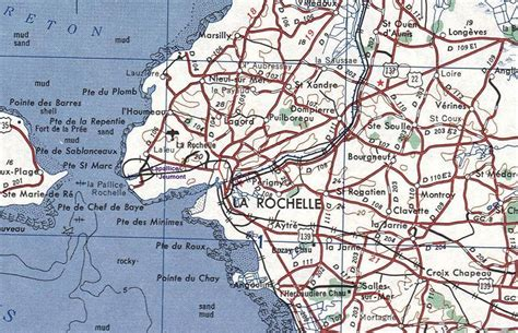 map of la rochelle la rochelle