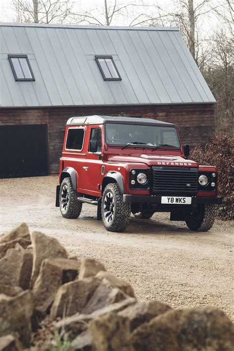 Land Rover 2018 Defender by Land Rover Defender Returns For 2018 With V8 Powered