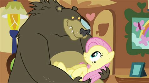 ordinary magic vignettes from the big apple books image grizzly holding fluttershy s03e13 png my