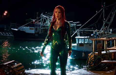actress in aquaman 2018 dc multiverse amber heard as mera in aquaman 2018 dir