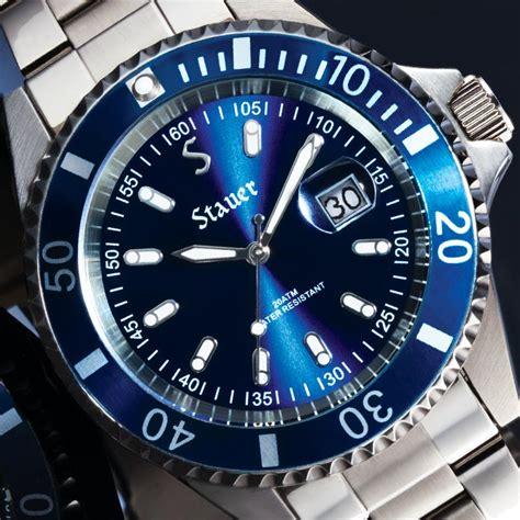 blue dive watches excursion dive 29221 stauer