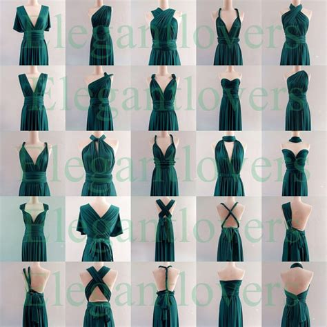 how to infinity dress infinity dress teal wedding bridesmaid wrap convertible