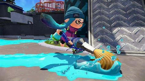 splatoons cool new paintbrush weapon arrives today