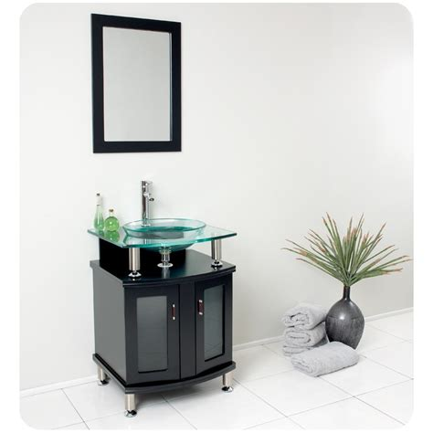 modern bathroom vanity mirror fresca contento 24 quot espresso modern bathroom vanity w
