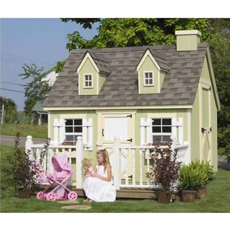 cozy cottage with outdoor areas cozy cottage playhouse 6x8 or 8x8