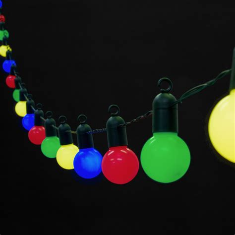 coloured outdoor lights 20 multi coloured led lights 5 metres lights4fun co uk
