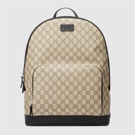 Backpack Gucci Gd 1 gucci gg supreme backpack 406370klqax9772
