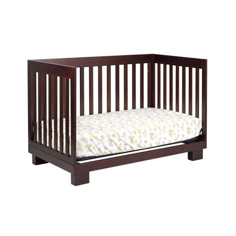 Babyletto Modo 3 In 1 Convertible Wood Crib Set In Wood Convertible Crib