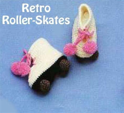 crochet pattern roller skate booties 13 best images about crochet roller skates on