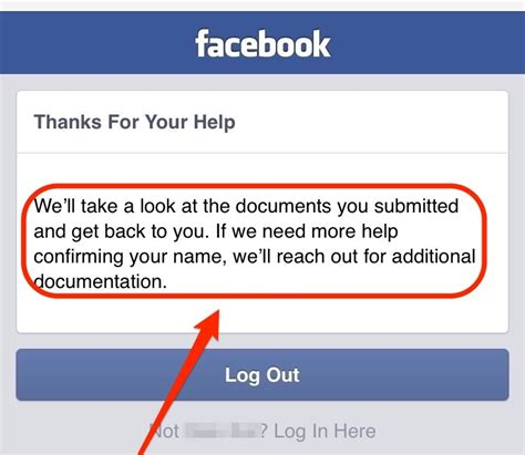 fb help solved we ll take a look at the documents you submitted