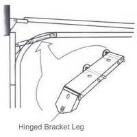 Low Clearance Garage Door Hinges Garage Door Turn Top Brackets