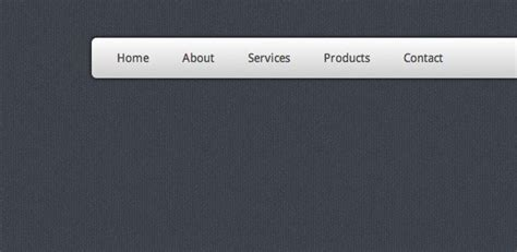 Top Menu Bar Css by Create A Stunning Menu In Css3 Webdesigner Depot