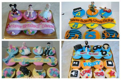 Cupcake Paket 4 Pcs bakery cake birthday karakter image inspiration