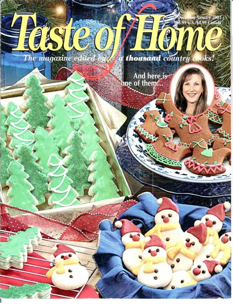 taste of home magazine back issue december january 2003