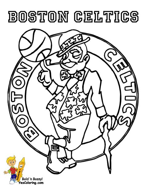 coloring pages for nba brawny basketball coloring yescoloring free nba sports