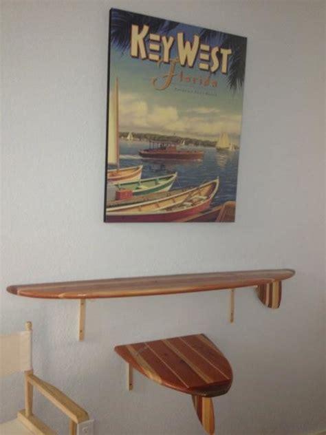 Surfboard Wall Shelf by Surfboard Shelf