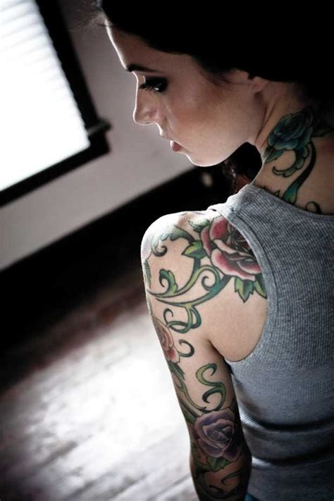 vine sleeve tattoo designs 30 eye catching vine ideas