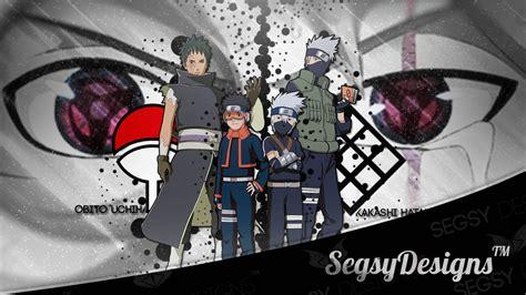 anime vs obito anime wallpaper design speedart quot kakashi obito