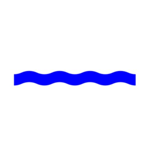 best photos of wave line water wave line waterline wave blue clip at clker vector clip