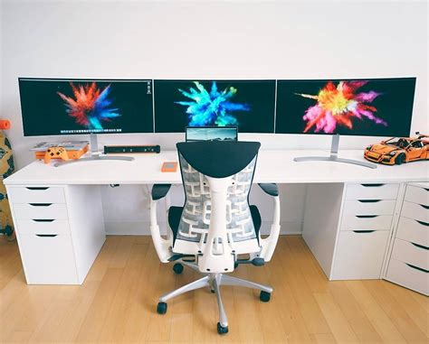 Meja Komputer Terbaru 19 desain dan model meja komputer gaming lagi ngetrend 2018 dekor rumah