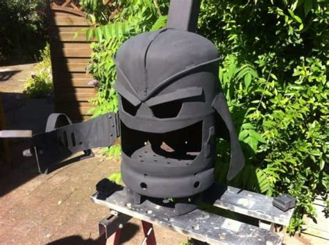 diy darth vader pit diy tutorial amazing darth vader pit log burner recyclart