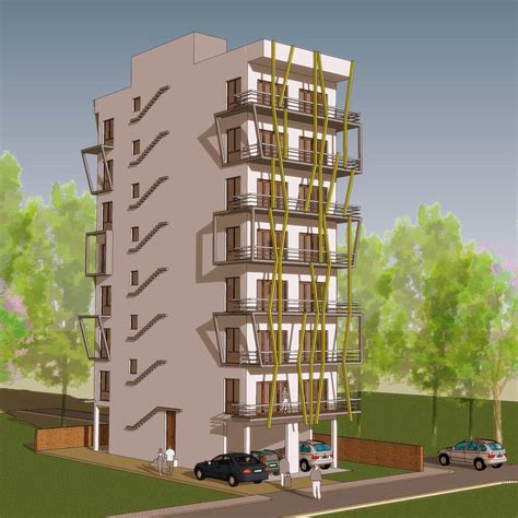 Indian Residential Building Designs Www Pixshark Com Apartment Building Design