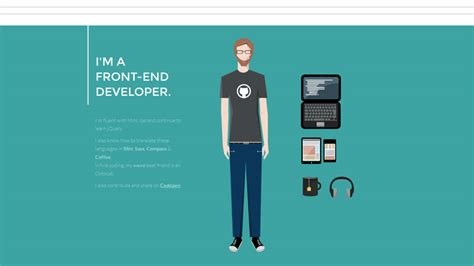 Ui Developer Resume Example by Interactive Portfolio And Resume Websites To Inspire You