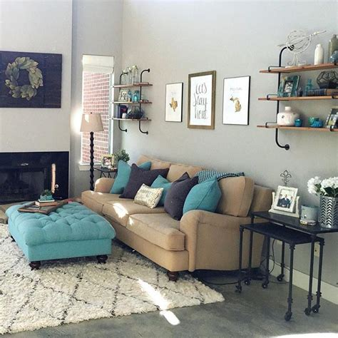 Grey And Turquoise Living Room Best 25 Living Room Turquoise Ideas On Pinterest Family