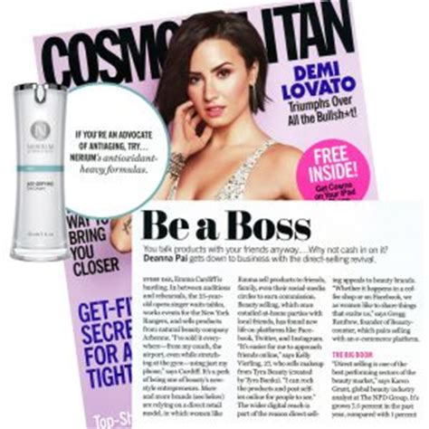 cosmopolitan article cosmopolitan recommends you become your own nerium