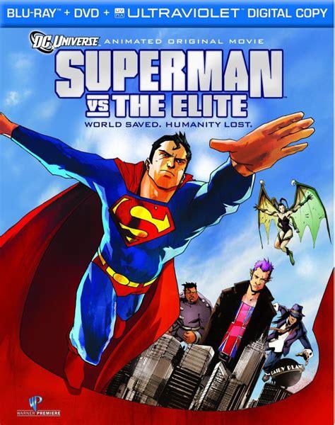 animated film vs cartoon superman homepage