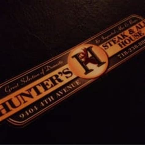 hunters steak and ale house hunters steak ale house steakhouses fort hamilton brooklyn ny reviews
