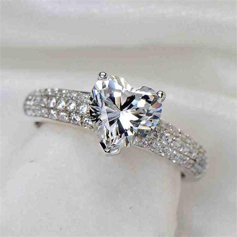 2 carat platinum engagement ring wedding and bridal