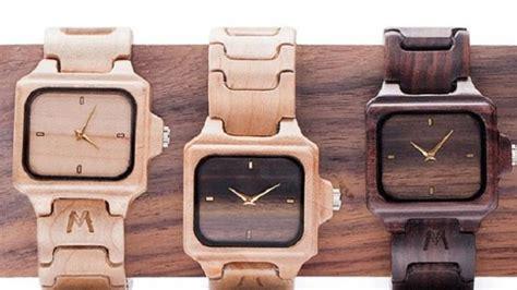 Jam Tangan Matoa desainer indonesia ubah limbah kayu jadi jam tangan klasik ekspor tribunnews