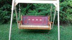 tailgate swing diy home on pinterest dressers tailgate bench and