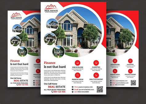 2017 latest real estate designs 10 real estate sale flyers design trends premium psd