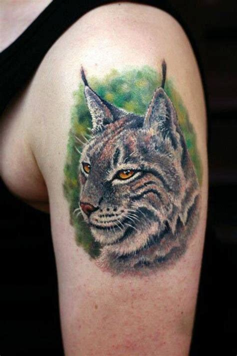 bobcat tattoo designs bobcat or lynx tat ideas