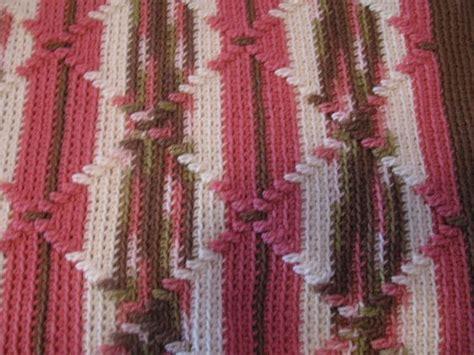 crochet pattern navajo afghan crocheted afghan navajo pattern pink camouflage