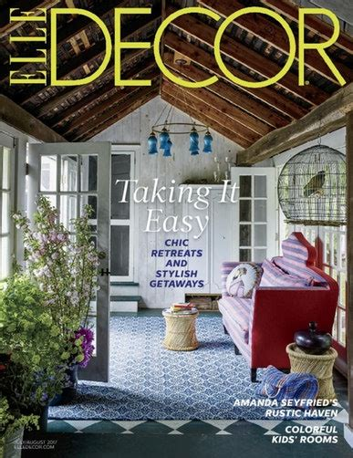home decor magazines elle decor magazine home decorating ideas discountmags com