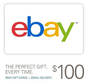 Can Ebay Gift Cards Be Used For Paypal - 100 ebay gift card for 95 limit of two doctor of credit