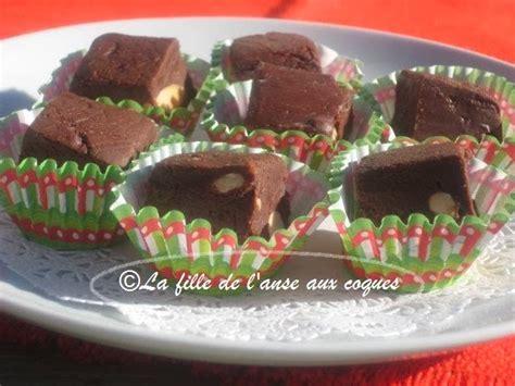 comment cuisiner des moules congel馥s la fille de l anse aux coques fudge express au chocolat