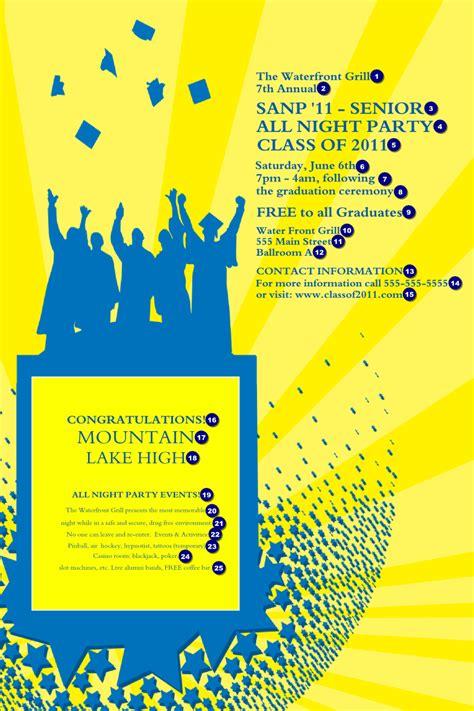 bright ideas graduation poster yellow ticketprinting com