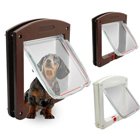 safe lockable cat dog door small dog kitten lock